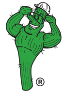 cactus guy character for performance drywall in gilbert az